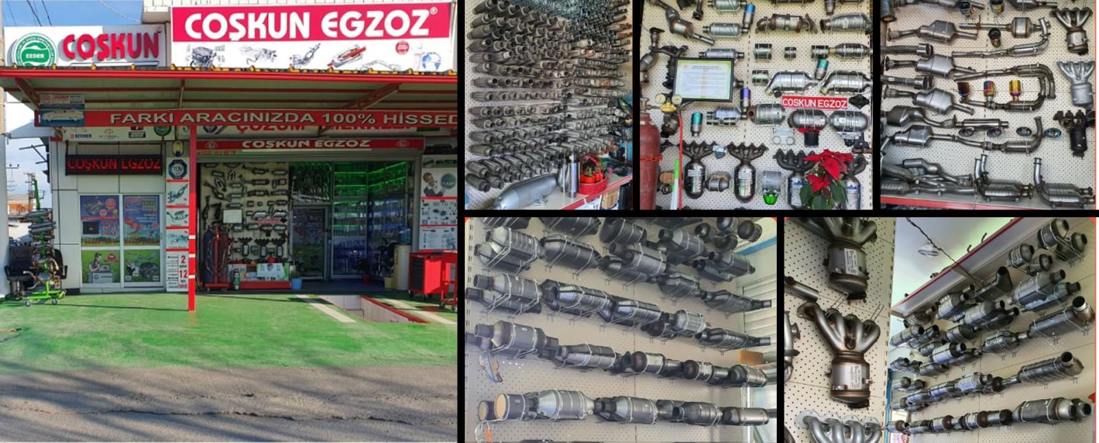 Coşkun Egzoz 1997 yılında Sakarya Dörtyol Sanayi Çarşısı Arifiye Yolu Üstü EGZOZ sistemleri alanında faaliyete başlamıştır.